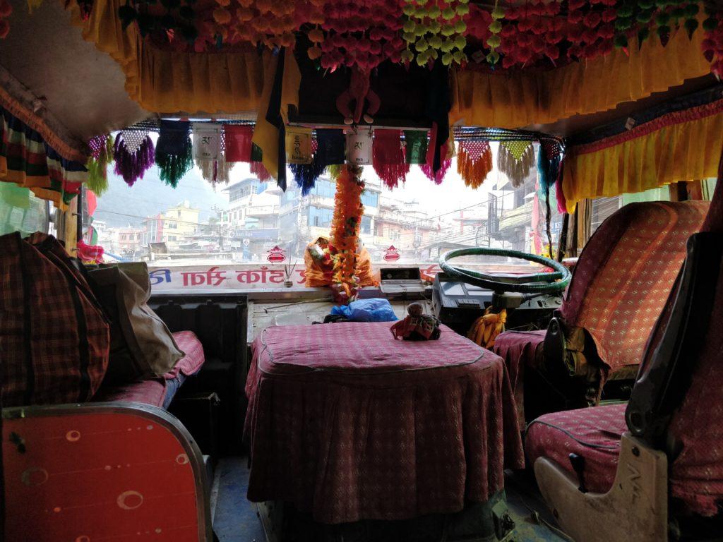 Langtang bus ride