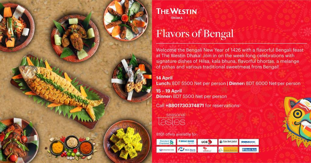 Westin Pohela boishakh Offer