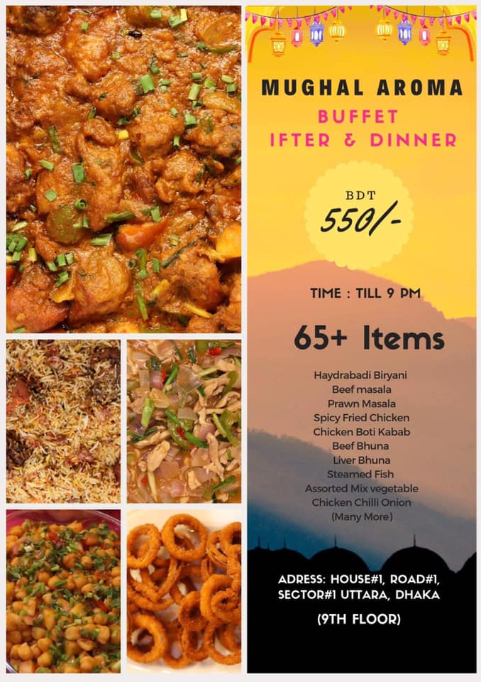 Mughal Aroma Iftar Offer
