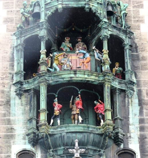 Mai 2015 - Paris, Germany, Budapest - Germany - Munich - Munich Glockenspiel - Neues Rathaus - Munich Town Hall clock