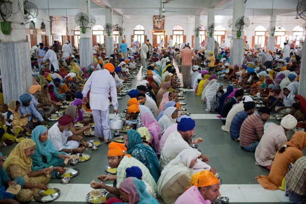 Lunch at the Langar