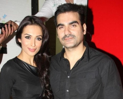 Malaika Khan and Arbaz Khan