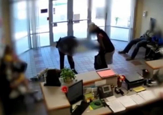 School Resource Officer Slams Black Teen