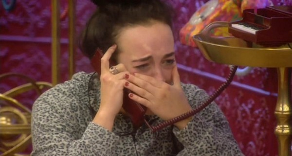 ` ****Ruckas Videograbs**** (01322) 861777 *IMPORTANT* Please credit Channel 5 for this picture. 29/01/16 Celebrity Big Brother DAY 25 SEEN HERE: Stephanie Davis is left very emotional after a phone call from her father, earlier today Grabs from today in the CBB house Office (UK) : 01322 861777 Mobile (UK) : 07742 164 106 **IMPORTANT - PLEASE READ** The video grabs supplied by Ruckas Pictures always remain the copyright of the programme makers, we provide a service to purely capture and supply the images to the client, securing the copyright of the images will always remain the responsibility of the publisher at all times. Standard terms, conditions & minimum fees apply to our videograbs unless varied by agreement prior to publication.