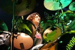 Through the Drum Set