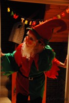 Visit from our favorite (creepy) Elf