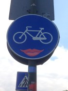 Hey There, Bicycle Lips?