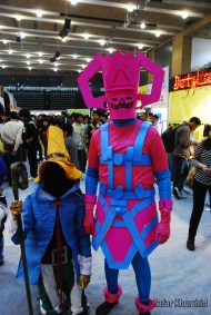Cosplayers - Big and Small