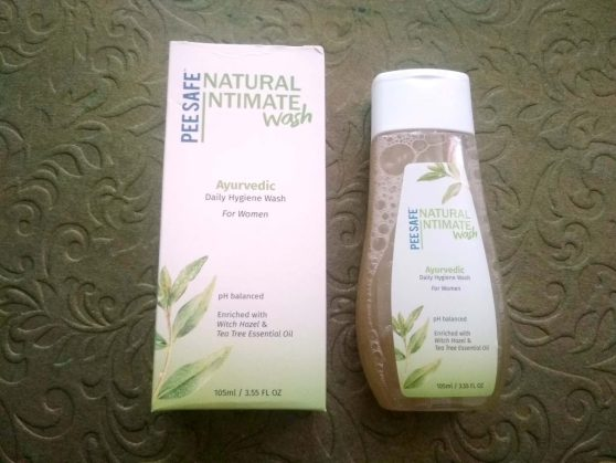 Packaging Of PeeSafe Natural Intimate Wash