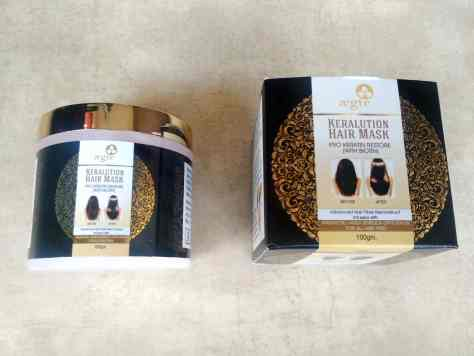 Packaging Of Aegte Keralution Hair Mask