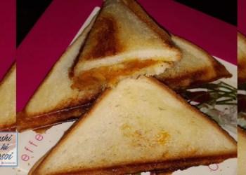 टोस्ट सैंडविच रेसिपी   How to Make Easy Toast Sandwich
