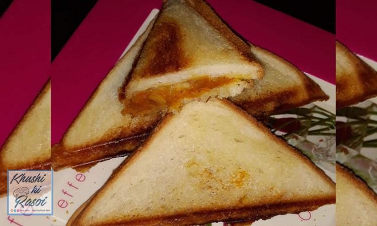 टोस्ट सैंडविच रेसिपी | How to Make Easy Toast Sandwich