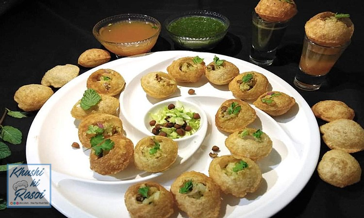 पानीपुरी रेसिपी | How to Make Delicious Panipuri at home