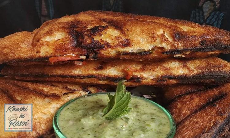 मलाई सैंडविच रेसिपी | How to Make Easy Malai Sandwich