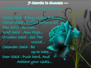 7 Secrets To Success..