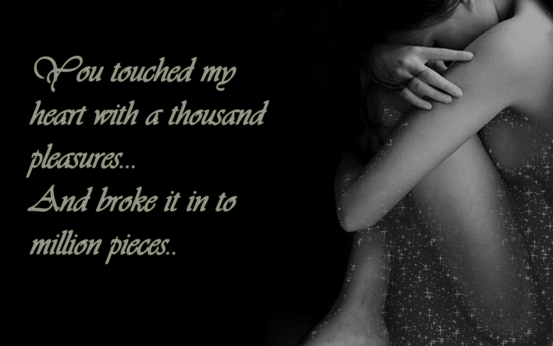 You Broke My Heart To Million Pieces Love Quotes Khyati Kothari Diy
