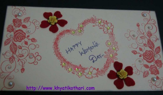 Womens Day Card Front Card77