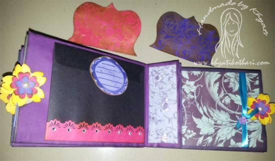 Another Paper Bag Mini Album Scrapbook6 11