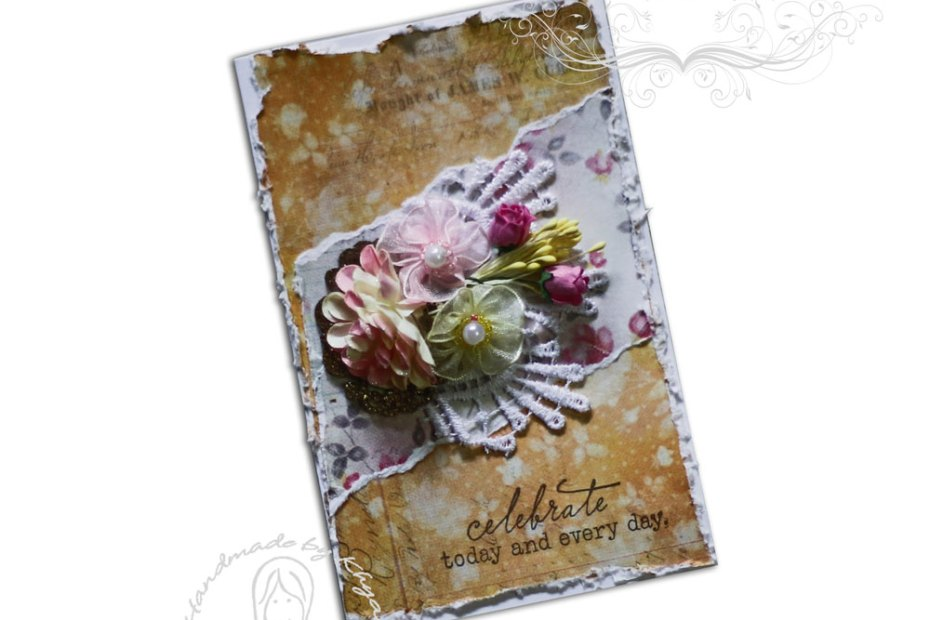 Some mixed media cards using CrafTangles Felicity Felicity CrafTangles 1 3