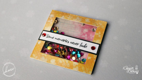 Make your own Quick and Easy shaker cards (Video Tutorial) 2 3