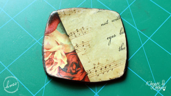 Make your own Clay coasters 3 2