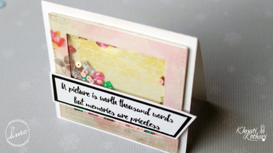 Make your own Quick and Easy shaker cards (Video Tutorial) 6 1