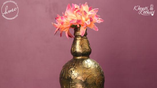 DIY vintage flower vases 1 1