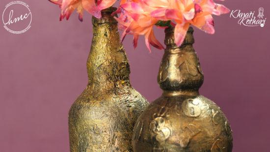 DIY vintage flower vases 7 1