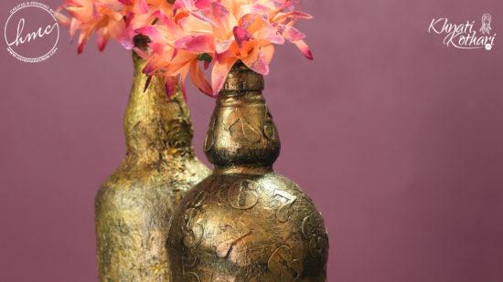 DIY vintage flower vases 9 1