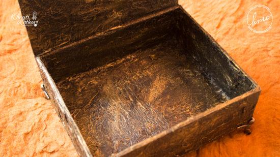 DIY Vintage treasure box 3