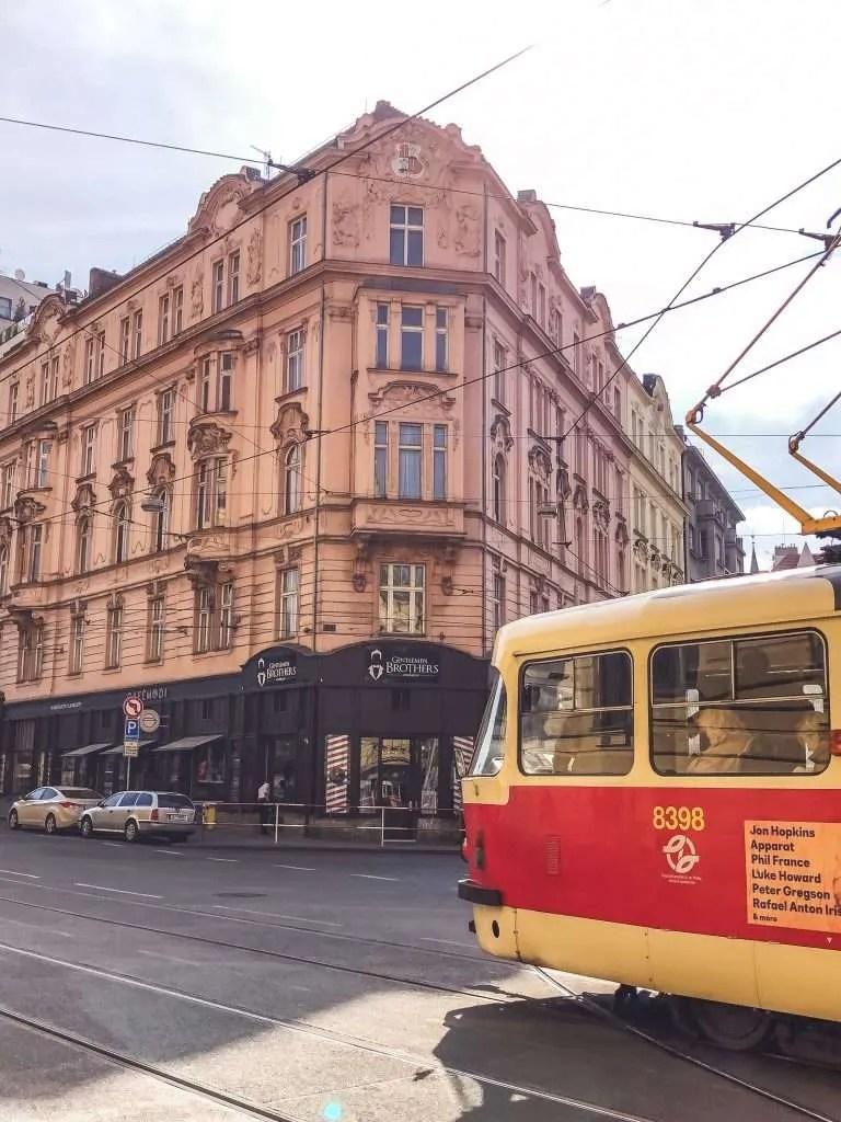 A building in Prague