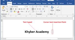 How to Type in Word Document
