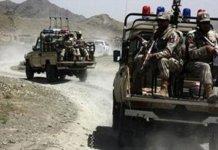 بلوچستان کښې سيکيورټي فورسز آپريشن دوران درې ترهګر مړه شوي يو کرنل شهيد شوي