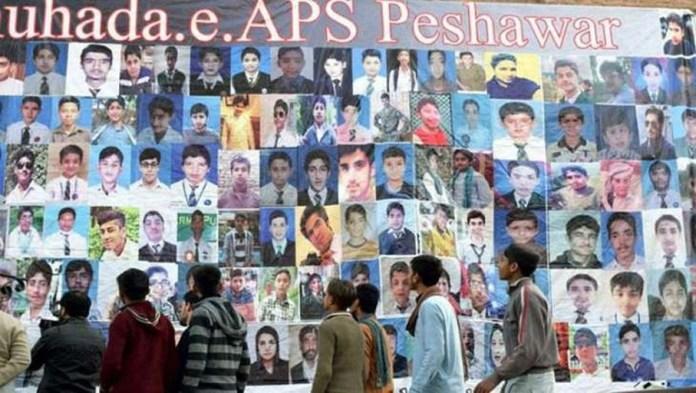 د پاکستان د ټولو دردناکې پيښې آرمي پبلک سکول حملې څلور کاله پورا شول