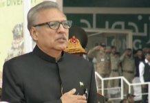 بهارت له تسليمول پکار دي چې پاکستان يو حقيقت دې: صدر عارف علوي