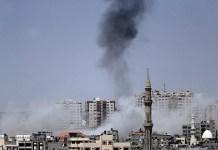 اسرائيل پوځ په غزه پټي باندې فضائي کارروائي کړي
