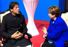 وزيراعظم عمران خان د ورلډ بينک سي اي او سره ملاقات کړې
