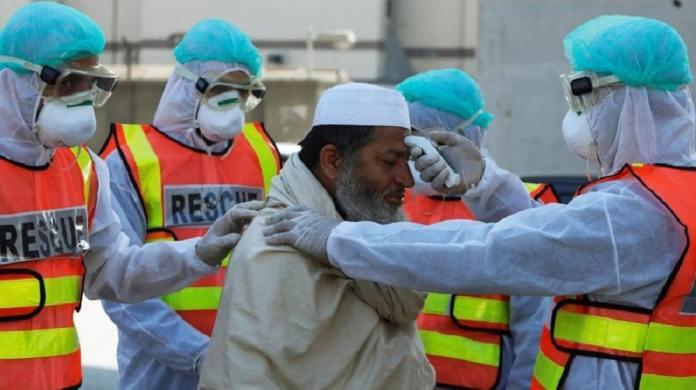 پاکستان کښې د کورونا وائرس کيسونو شميره اتلس سوه پنځه شپيته ته اورسيده
