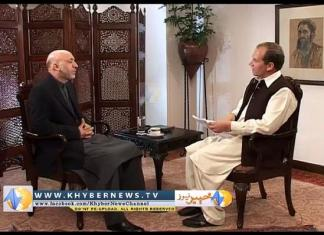 Khyber News | Exclusive Interview of Afghan President Hamid Karzai with Hasan Khan at Presidential S
