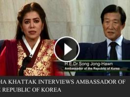 Nadia Khattak Interviews Ambassador of the Republic of Korea H.E .Dr Song Jong-Hawn    EP # 02 16