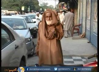 پشاور میں پیشہ ور بھیکاریوں کی بھرمار