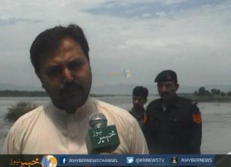 Khyber News | Shabqadar Kabul and Swat River Flood pkg (Ahmad ALI )