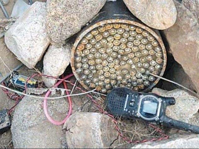 Policeman martyred, 13 injured in Bannu IED blast