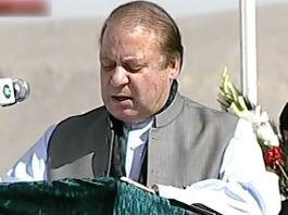 PML-N President Nawaz Sharif