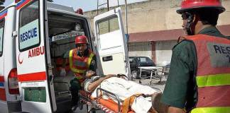 Two died, 14 injured in road accident in Upper Dir