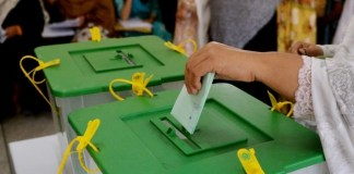 Re-polling underway in PK-23 Shangla peacefully