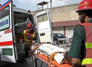 10 killed in truck-van collision in Abbottabad