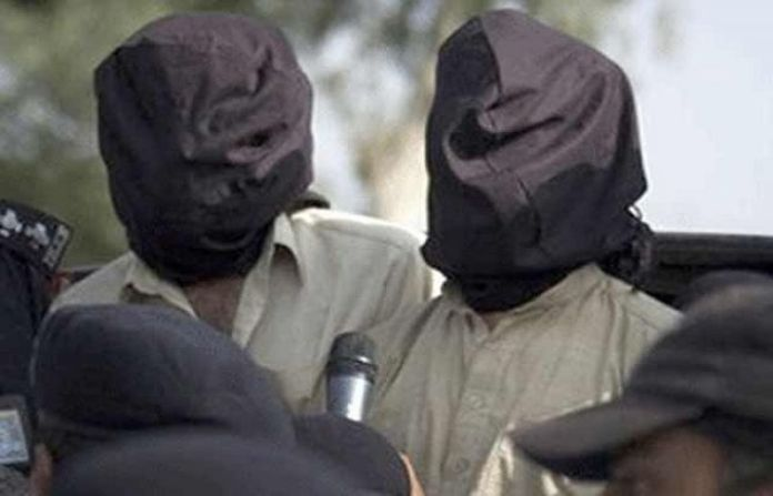 Two terrorists arrested in DI Khan