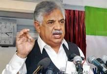 Governor KPK Iqbal Zafar Jhagra