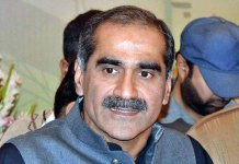 Saad Rafique challenges Khan's victory on Lahore's NA-131 constituency